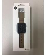 Monowear Watch Band for Apple Watch 38mm Brown / Dark Gray MWLTBR20MTDG NEW - $13.55