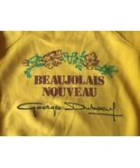 Georges Duboeuf Beaujolais Nouveau Wine Bottle SweatShirt Small / Medium... - $28.49