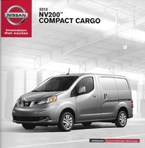 2013 Nissan NV200 COMMERCIAL Compact vans brochure catalog US 13 Cargo - $8.00