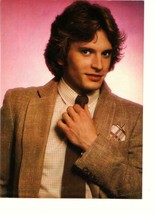 Rex Smith teen magazine pinup clipping brown dress jacket Teen Beat 1970's - $1.50