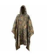 Impermeabile Di Mimetico Poncho per La Pioggia Caccia Pesca Escursionismo - $173.22