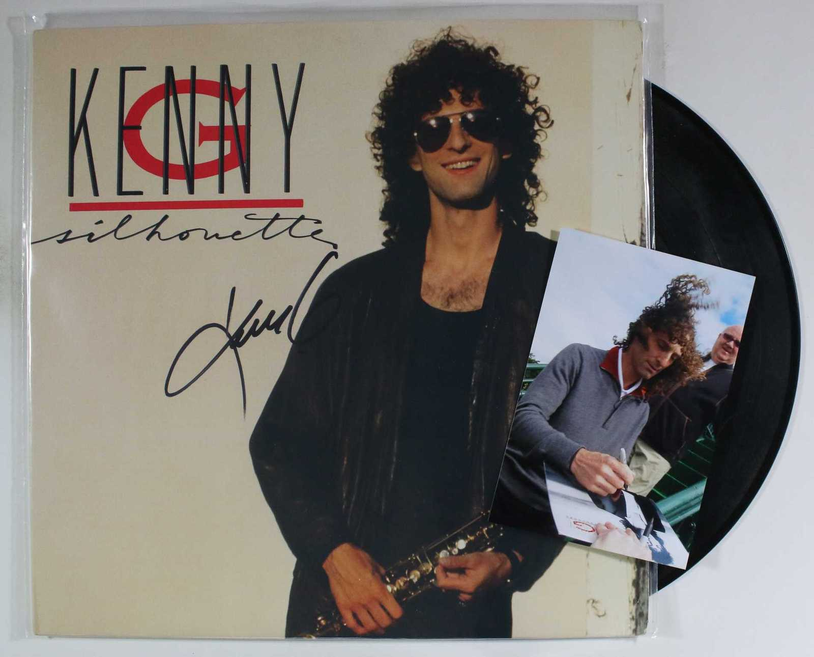 Primary image for Kenny G Signed Autographed Record Album w/ Proof Photo