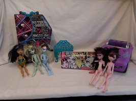 Monster High Doll Case RETIRED DESIGN + Scaris City of Frights Convertib... - $24.02
