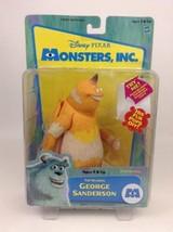 Hasbro 2001 Original Disney Monster Inc TALKING Sanderson Action Figure ... - $39.55