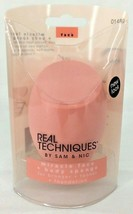 Real Techniques Miracle Face + Body Sponge Contour Blend Cover Pointed 01489 Nip - $10.39