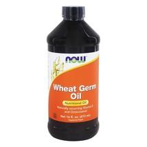 NOW Foods Wheat Germ Oil, 16 Ounces - $17.45