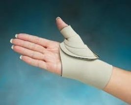"Comfort Cool Thumb CMC Restriction Splint, Beige - Medium Plus-Right Hand 7-1/4"" - $29.29"