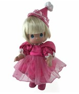 """Precious Moments Birthday Blessings Pink Blonde Girl 12"""" Doll Vinyl Coll... - $37.36"""