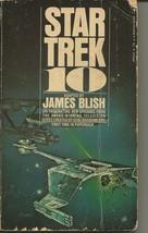 Star Trek 10 ORIGINAL Vintage 1974 Paperback Book James Blish - $14.84