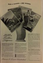 Vintage Advertisement - Southern California Travel - 1948 - $6.99