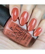 OPI Kerry YANK MY DOODLE Orange Brown Tawny Copper Nail Polish Lacquer .... - $8.89