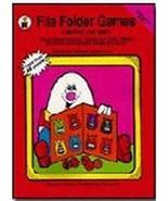 File Folder Games Reading And Math: Kindergarten Book 1 [Paperback] Kare... - $29.70