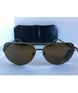 New Polarized Dunhill SDH007 509P Gunmetal Pilot 63mm Men's Sunglasses I... - $159.99
