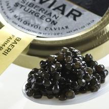 Italian Siberian Sturgeon Caviar - Malossol - 4 oz tin - $316.05