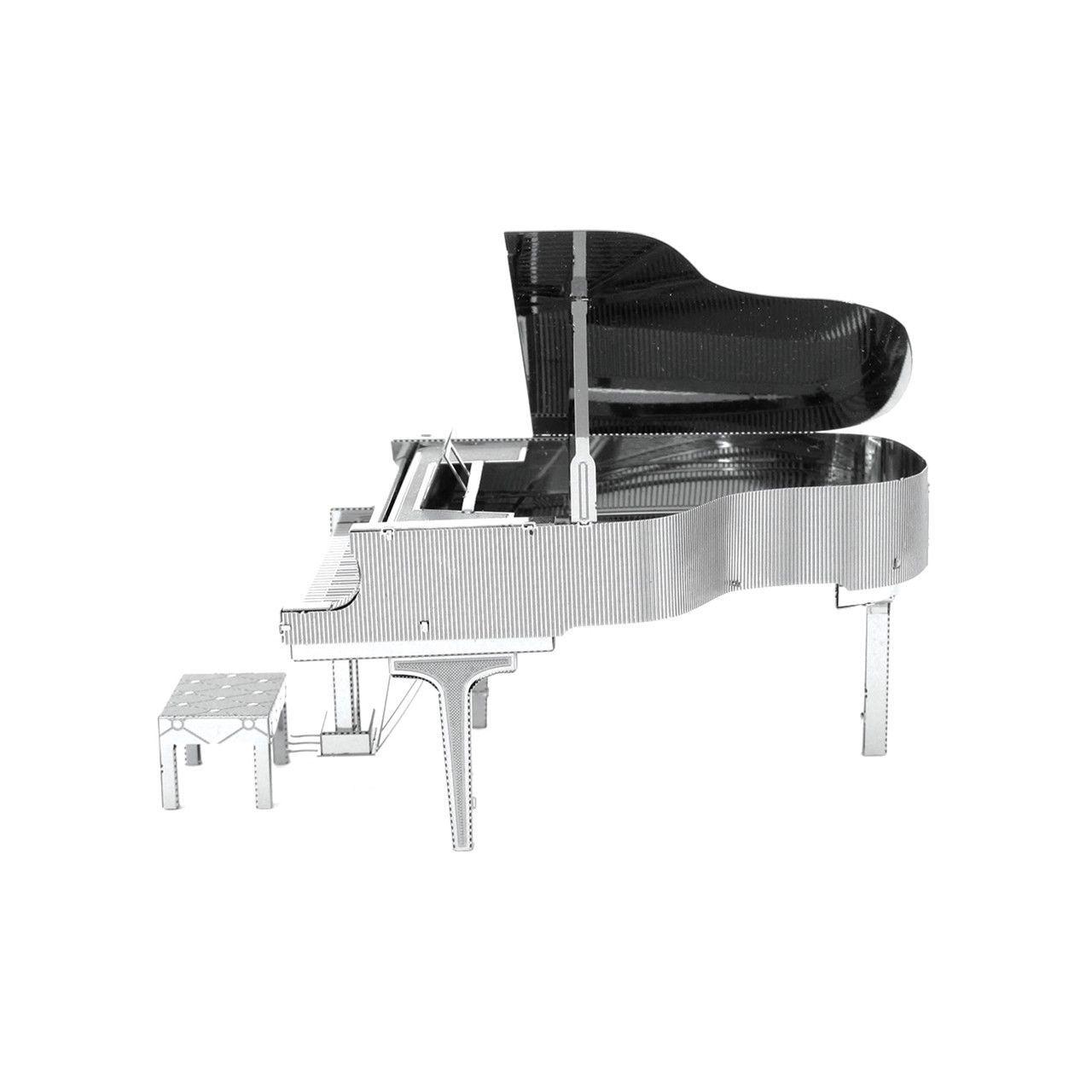 Metal Earth 3D Laser Cut Steel Model Kit Grand Piano Toy Gift