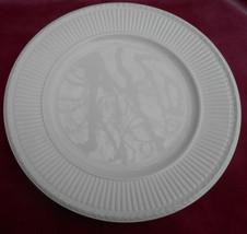 "Wedgwood Edme Off White Dinner Plate 10 1/4"" Ol Der Etruria Mark Cream Rare - $21.03"