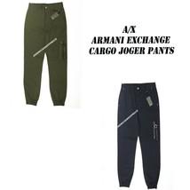 A X ARMANI EXCHANGE NEW MEN'S CARGO JOGGER PANTS NWT STRETCH LOW CUT RET... - $51.95