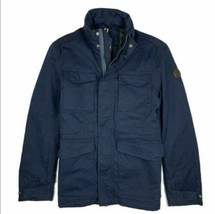 TIMBERLAND A1MLN-433 MT.TREMONT  MEN'S NAVY MILITARY HOODED JACKET As :XL - $128.70