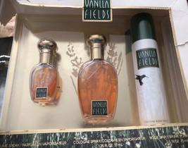 Vanilla Fields 3 Piece Gift Set .375 Oz and 1 .25 Oz / cologne & 2.5 Body  Spray - $45.29