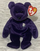 Collectible Ty Beanie Babies Princess Diana Bear With Hang Tag Fast Free... - $96.73