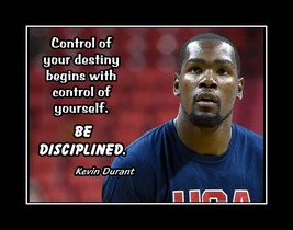 Kevint Durant Basketball Motivation Poster, Son/Daughter Inspiration Wal... - $17.99+