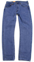 Levi's 501 Men's Original Fit Straight Leg Jeans Button Fly 501-0134 image 4