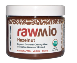 Keto snacks: Rawmio low carb Chocolate Hazelnut Spread, 6 oz (8 net carbs) - $25.00
