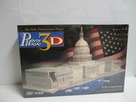 Vintage 718 piece 3D Puzzle Puzz 3D U.S. Capitol Building new 1994 - $34.64