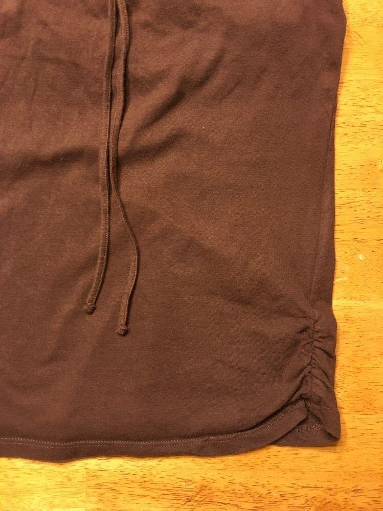 Xhilaration Girl's Brown Halter Top Shirt / Blouse Size: Large 10/12 image 4