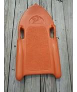 VINTAGE ZIFFY-WHOMPER ORANGE ORANGE PLASTIC SLED  - $74.24