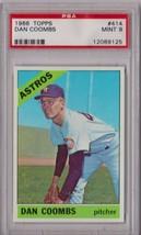 1966 Topps Dan Coombs #414 PSA 9 P472 - $53.14