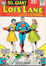 Superman's Girlfriend Lois Lane 80 Page Giant Comic Book #3, DC 1964 FINE+ - $72.45