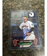 Joey Rickard Baltimore Orioles Autographed Card In person San Francisco Giants  - $6.92