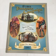The Reenactment of the Battles of Spring Hill, Franklin and Nashville  T... - $11.29