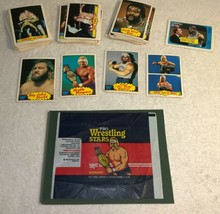 RARE 1986 Scanlens Australia Pro Wrestling Stars WWF Wrapper & Cards Lot - $120.93