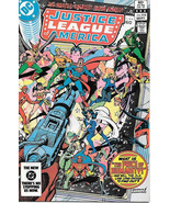 Justice League of America Comic Book #218, DC Comics 1983 NEAR MINT NEW ... - $5.94