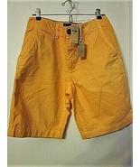 AMERICAN EAGLE OUTFITTERS Orange Cotton 4 Pocket Classic Shorts Sz. 28 W... - $14.80