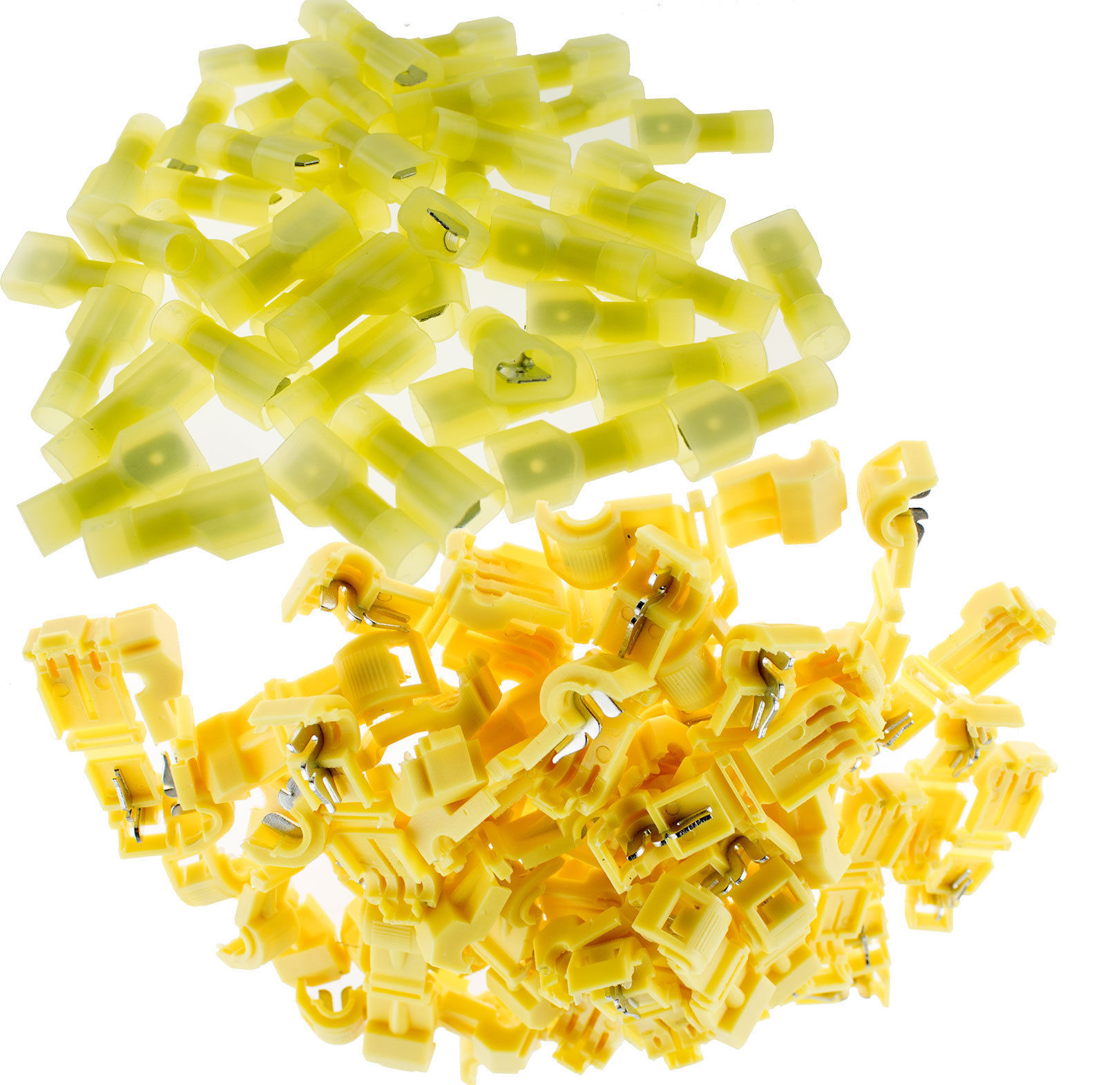 300 Wire Butt Connectors Yellow NYLON 12-10 Ga AWG Gauge