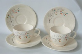 Vintage Salem China Free Form SOUTHWIND 2 Cup 4... - $29.69