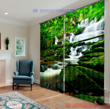 3D Ladder River032 Blockout Photo Curtain Print Curtains Drapes Fabric Window UK - $145.49+