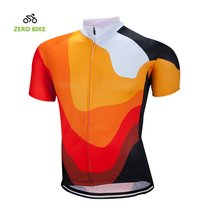 ZEROBIKE Men's Short Sleeve Cycling Jersey jacket Breathable Quick Dry Outdoor S - $15.83
