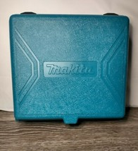 empty MAKITA Drill 6095D Blue Storage CASE ONLY - $9.85