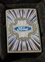 Retired Abstract Sunburst Ford  Zippo Lighter - $28.45