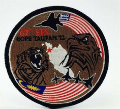 USAF 67TH EFS COPE TAUFAN 2012 PATCH STICKER - $9.89