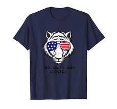New Shirts - Funny 4th of July Tiger Red White and Roar tshirt Men - $19.95+