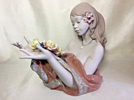 Lladro  16751 MORNING DEW Retired 2004 Excellent condition Gres Finish - $1,435.50