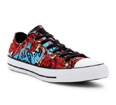 Converse Chuck Taylor Bold Colors Graffiti Blk Lining Ox Low Shoes Unise... - $68.99