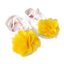 Dance Class Ballet Shoes/Dance Shoes For Pretty Girls (16.5CM Length)-Yellow