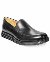 COLE HAAN ORIGINAL GRAND VENETIAN MEN'S BLACK SLIP ON LOAFERS  C31351 - $109.99