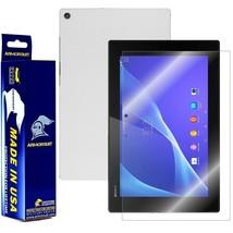 ArmorSuit MilitaryShield Sony Xperia Z2 Tablet Screen + White Carbon Fiber SKin! - $34.99